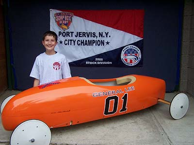 2005 Port Jervis Soapbox Derby Super Stock Winner