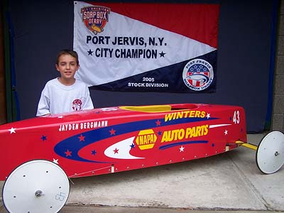 2005 Port Jervis Soapbox Derby Stock Winner